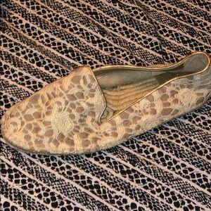 WORN ONCE Cole Haan lace espadrilles